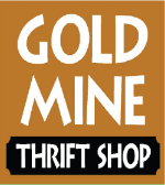 Gold Mine Thrift Shop, furniture, used goods, event, rummage sale