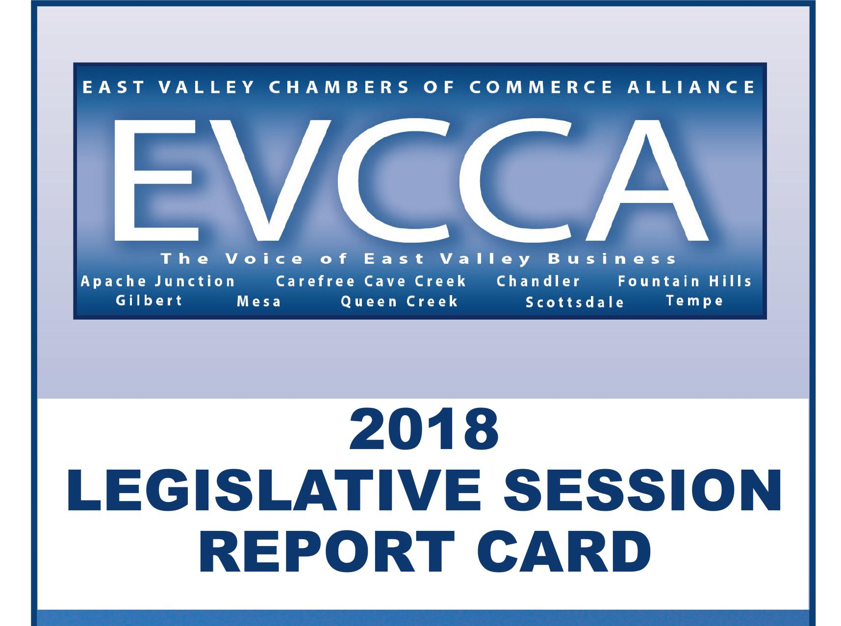 EVCCA legislative report card